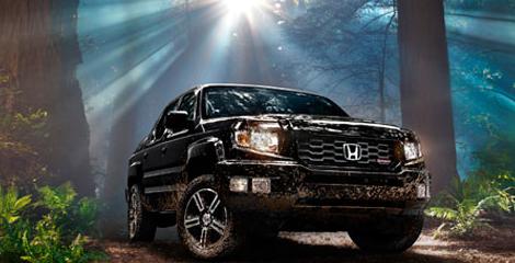 2012 Honda Ridgeline, Front View. , exterior, manufacturer