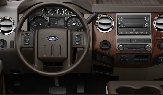 2012 Ford F-450 Super Duty, Steering Wheel. , manufacturer, interior