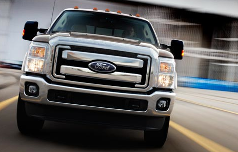 2012 Ford F-450 Super Duty, Front View. , exterior, manufacturer