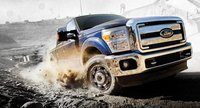 2012 Ford F-450 Super Duty, Front quarter view., exterior, manufacturer, gallery_worthy