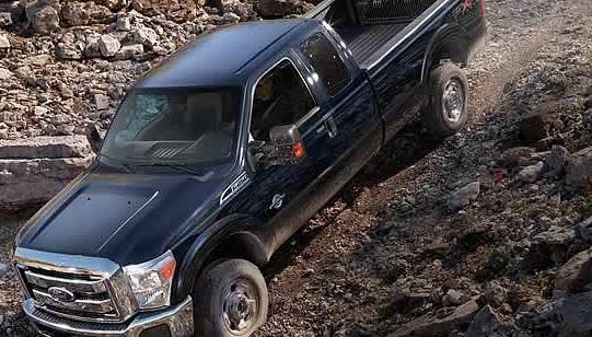 2012 Ford F-450 Super Duty, Front quarter view. , exterior, manufacturer