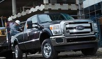 2012 Ford F-450 Super Duty, Front quarter view. , exterior, manufacturer, gallery_worthy