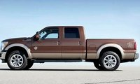 2012 Ford F-350 Super Duty, Side View. , manufacturer, exterior