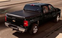 2012 Chevrolet Silverado Hybrid, Back quarter view. , exterior, manufacturer