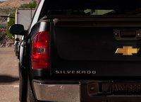 2012 Chevrolet Silverado Hybrid, Tail light. , exterior, manufacturer