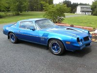 1978 Chevrolet Camaro, This is original paint, exterior