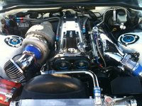 Picture of 1995 Toyota Supra 2 Dr Turbo Hatchback, engine