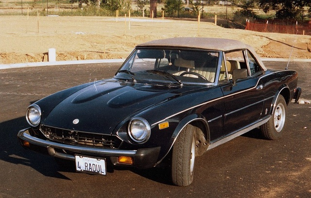1980 fiat 124 spider pictures cargurus. Black Bedroom Furniture Sets. Home Design Ideas