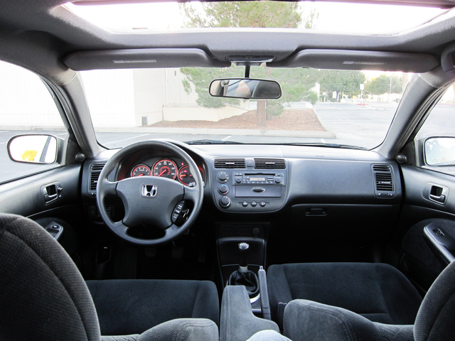 Picture of 2005 Honda Civic Coupe EX, interior, gallery_worthy
