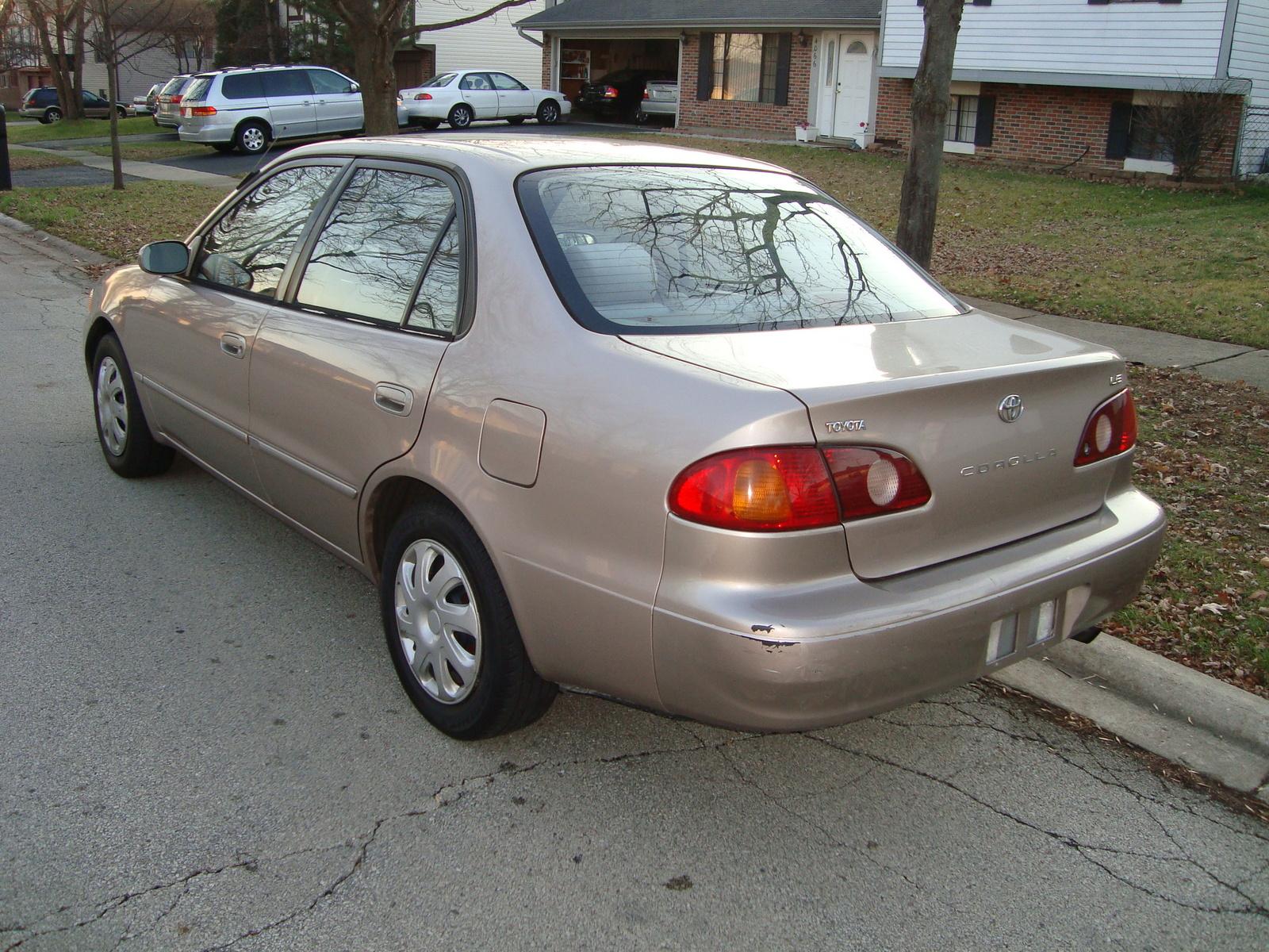 2001 Toyota Corolla Pictures Cargurus