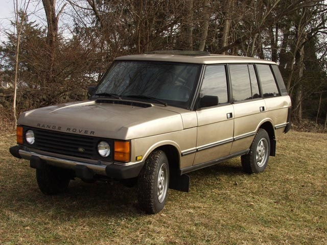 Picture of 1991 Land Rover Range Rover 4WD, exterior