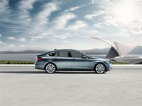 2012 BMW 5 Series Gran Turismo, exterior full side view, exterior, manufacturer