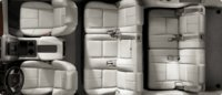 2012 GMC Yukon XL, interior seating top full view, interior, manufacturer, gallery_worthy