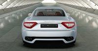 2012 Maserati GranTurismo S, exterior rear full view, exterior, manufacturer