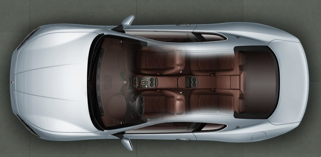 2012 Maserati GranTurismo S, interior full top view, exterior, interior, manufacturer