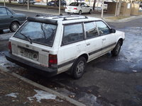 1991 Subaru Loyale 4 Dr STD 4WD Wagon, This shows the alloy wheels., exterior