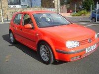 1998 Volkswagen Golf Overview
