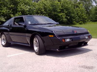 1988 Mitsubishi Starion Overview