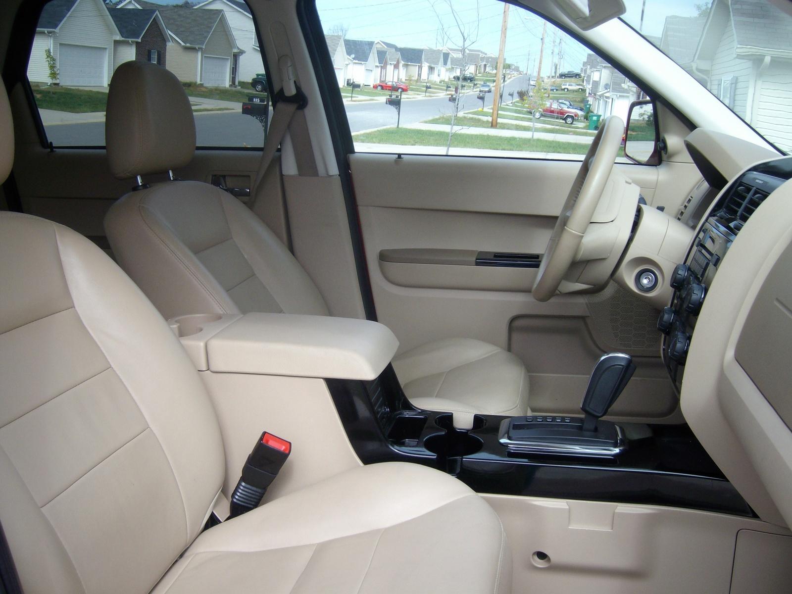 2008 Ford Escape Limited Interior Hd Image