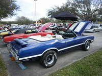 1970 Oldsmobile 442 convertible w30 blue and white hoosier  club442, exterior