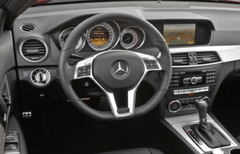 2012 Mercedes-Benz C-Class, Steering Wheel. , interior, manufacturer