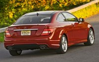 2012 Mercedes-Benz C-Class, Back quarter view. , exterior, manufacturer