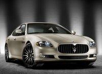 2012 Maserati Quattroporte, Front quarter view copyright AOL Autos. , exterior, manufacturer