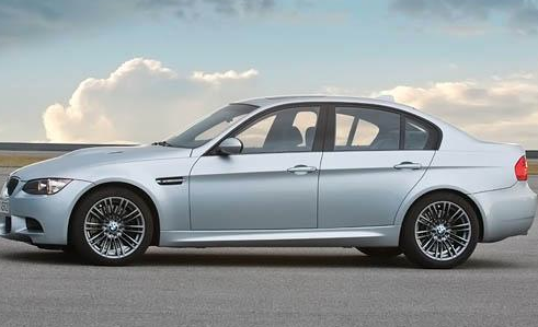 2012 BMW M3, Side View. , manufacturer, exterior