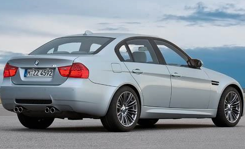 2012 BMW M3, Back View. , manufacturer, exterior