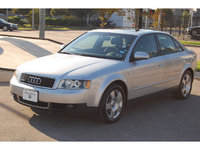 2002 Audi A4 4 Dr 3.0 Sedan, I don't own that car anymore so I took the picture from google, exterior