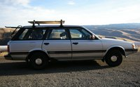 1988 Subaru GL, White Bird Hill, exterior