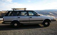1988 Subaru GL, White Bird Hill, exterior