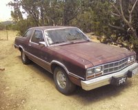 1981 Ford Fairmont, Sitting on the side of the house, exterior
