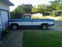 1973 Chevrolet C/K 10, The truck pretty straight, exterior