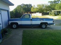 1973 Chevrolet C/K 10, The truck pretty straight, exterior