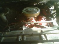 1973 Chevrolet C/K 10, 454, engine