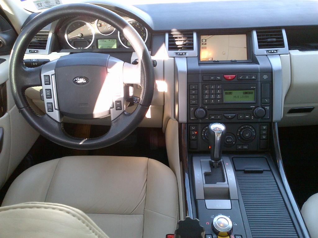 2008 land rover range rover sport interior pictures. Black Bedroom Furniture Sets. Home Design Ideas