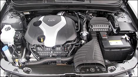 2012 Hyundai Sonata 2.0T Limited, Engine, engine