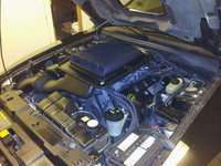 Picture of 2003 Ford Mustang Mach 1, engine