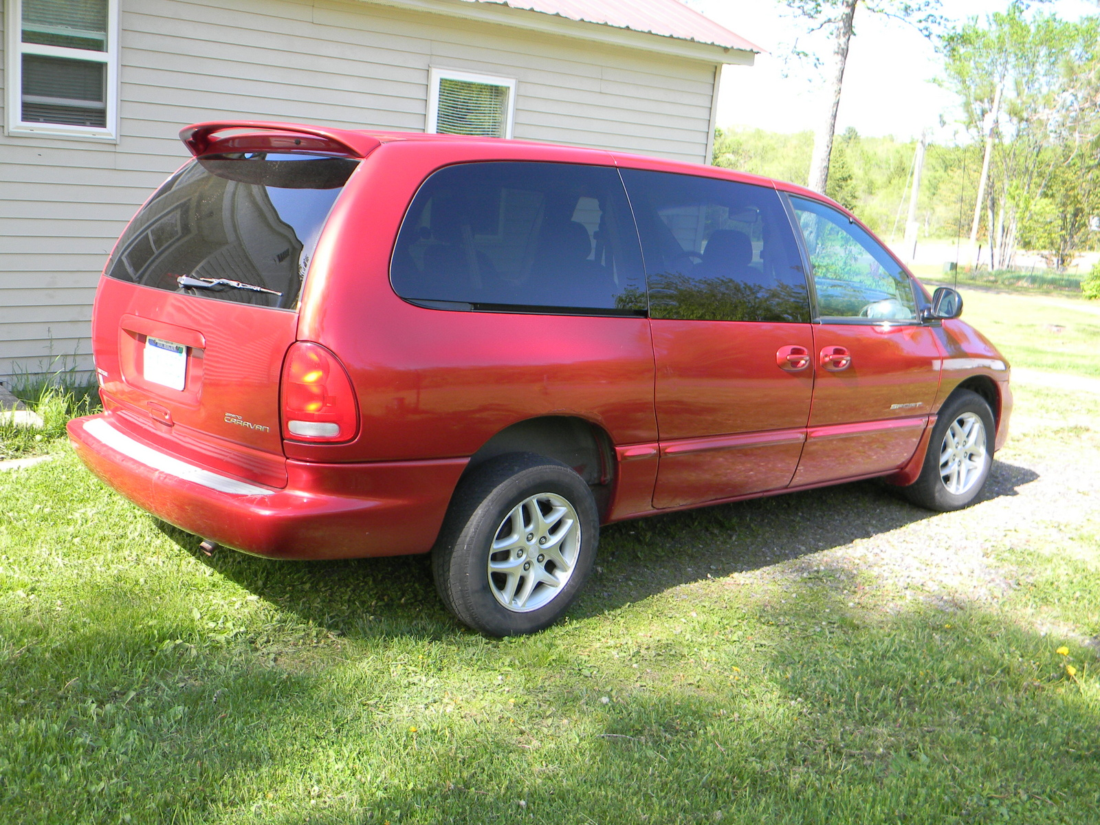 picture of 2000 dodge grand caravan 4 dr sport awd passenger van. Cars Review. Best American Auto & Cars Review