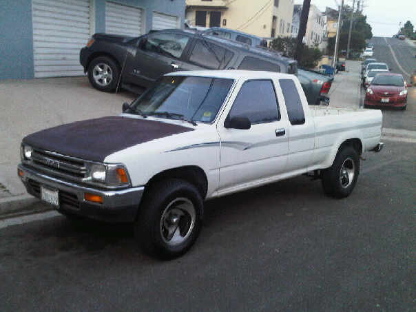 toyota pickup questions i have a 1991 toyota xtracab and. Black Bedroom Furniture Sets. Home Design Ideas