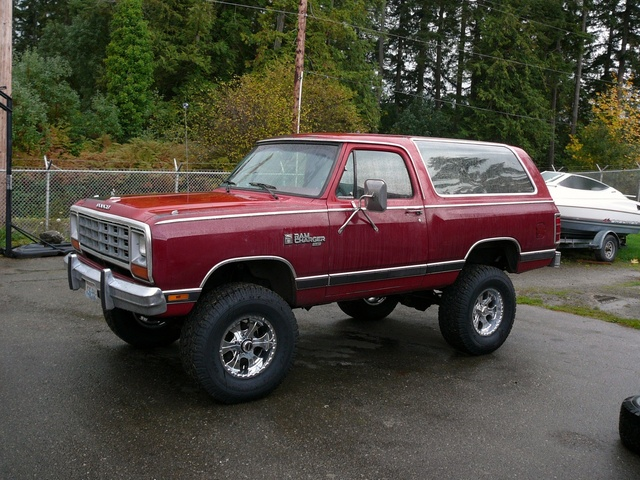 1983 Dodge Ramcharger Pictures Cargurus