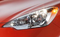 2012 Toyota Prius C, Close-up of headlight., manufacturer, exterior