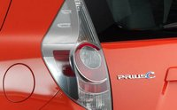 2012 Toyota Prius C, Close-up of tail light. , manufacturer, exterior