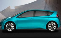 2012 Toyota Prius C, Side View. , exterior, manufacturer
