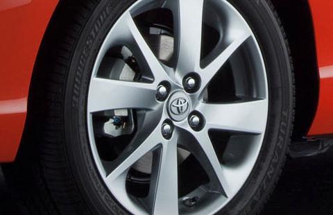 2012 Toyota Prius C, Front tire. , exterior, manufacturer