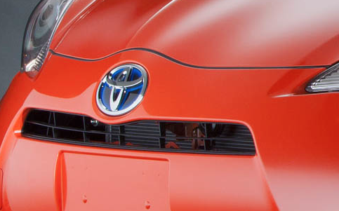 2012 Toyota Prius C, Hood., exterior, manufacturer