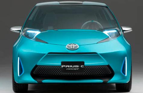 2012 Toyota Prius c, Front View. , exterior, manufacturer