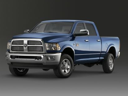 2012 Ram 3500, Front quarter view copyright AOL Autos., manufacturer, exterior
