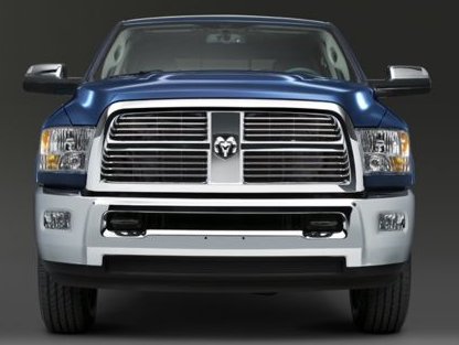 2012 Ram 3500, Front View copyright AOL Autos. , exterior, manufacturer